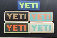 YETI Stickers / Decals