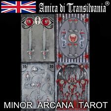Minor arcana Tarot cards desk rare collection signed certified limited edition