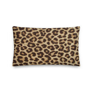 Cheetah Print Premium Pillow
