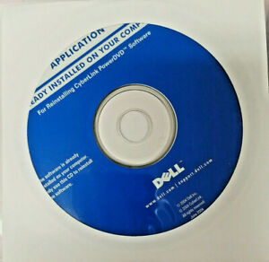 N.I.B Dell Reinstalling Disc CyberLink PowerDVD 0F4991