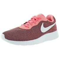 Nike Womens Tanjun Pink Gym Running Shoes Sneakers 8 Medium (B,M) BHFO 9426