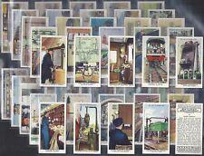 WILLS-FULL SET- RAILWAY EQUIPMENT (50 CARDS) - EXC