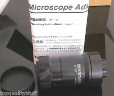 SONY MVA-15 C-MOUNT MICROSCOPE CAMERA or VIDEO ADAPTER, NEW!!!