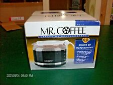 Mr. Coffee Replacement Decanter Pot 10-12 Cup White PD12 New Open Box Free Ship