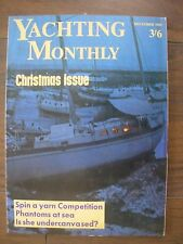 VINTAGE THE YACHTING MONTHLY MAGAZINE DECEMBER 1969