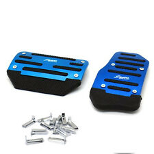 2X NonSlip Car Automatic Transmission Blue Pedal Cover Brake Clutch Accelerator