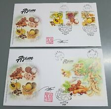Autograph Asam Sour Fruits Malaysia FDC 2019 First Day Cover