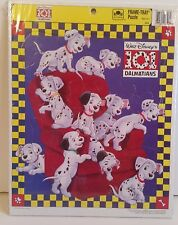 Golden Frame Tray Puzzle Walt Disney's 101 Dalmations NEW 14 X 11 1/4 RARE U.S.A