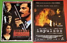 IMPULSOS Miguel Alcantud + MUERTOS COMUNES Norberto Ramos del Val DVD R2 Precint