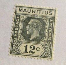 MAURITIUS Sc #188 * MH 12¢, postage stamp, Fine +