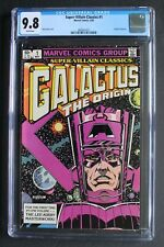 Super Villain Classics GALACTUS THE ORIGIN #1 KIRBY Lee Layton 1983 MCU CGC 9.8