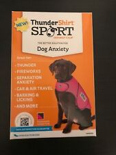 NEW! ThunderShirt Sport XXS Fuchsia Dog Anxiety Solution