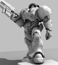 Star Craft 2 - Tychus Findlay figure papercraft guide