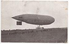 Zeppelin Luftschiff Parseval in Dresden 1910 Landung auf dem Heller