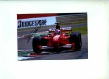 Mika Salo Ferrari F399 Belgian Grand Prix 1999 Signed Photograph 1