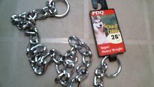 """Boss Pet PDQ 12626 Choke Chain 26"""" Collar, FREE SHIPPING"""