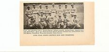 Cuba Baseball 1939 Team Picture World Amateur Champions
