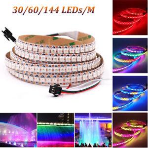 WS2812B LED Stripe Streifen WS2812 5050 RGB Licht Individuell Adressierbar 5V DE