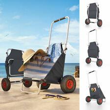 Carrello da spiaggia Trolley da spiaggia Carrello a mano ripiegabile anthracite