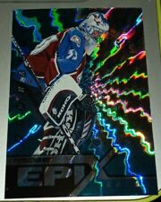1997-98 PINNACLE EPIX Patrick Roy SEASON EMERALD E7