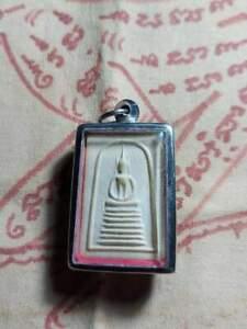Thai buddha amulet phra somdej ketchaiyo   powerful pendant .