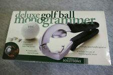 NEW Perfect Solutions Deluxe Golf Ball Monogrammer Professional Quality