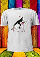 Star Wars Darth Vader Unicorn Funny T-shirt Vest Tank Top Men Women Unisex 2243