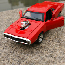 DODGE CHARGER 1970 1:32 MUSCLE Model Cars THE FAST&FURIOUS Red Toy Alloy Diecast