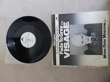 VISAGE / ULTRAVOX - FADE TO GREY/MOON OVER MOSC - JAPANESE PROMO PIC SLEEVE 12""