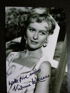 VIRGINIA MCKENNA Authentic Hand Signed Autograph 4X6 Photo - BEAUTIFUL ACTRESS