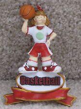 Girl Basketball Player Ornament - New