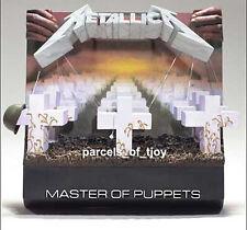 OFFICIAL METALLICA McFARLANE MASTER OF PUPPETS 3D ALBUM COVER BNIB