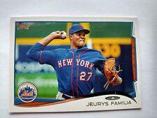 2014 Topps #376 Jeurys Familia New York Mets