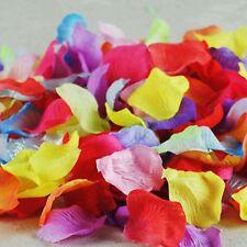 300/1000pcs Silk Rose Flowers Petals Flower Petals Wedding Party Confett Petal