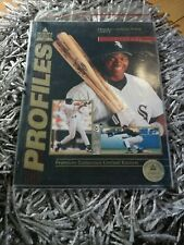 Profiles Icon Sport Premiere Edition Magazine 1992 Frank Thomas Limited Edt. NEW