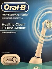 Oral-B Professional, Precision 5000, Rechargeable Toothbrush, Powered by Braun.