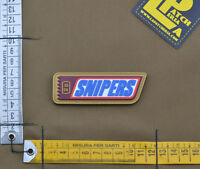 "PVC / Rubber Patch ""SNIPERS"" with VELCRO® brand hook"