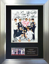 More details for bts no3 signed autograph mounted photo repro a4 print 761