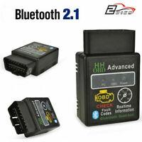 OBD2 Auto Bluetooth 2.1 Codice Scanner Lettore Di diagnostica OBDII  per ELM327
