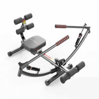 Home Gym Rowing Machine Rower Glider Workout Fitness Play Exercise Equipment
