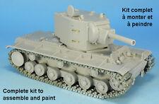 Char lourd russe KV-2 Russian heavy tank modele en KIT chenilles SOLIDO VEREM