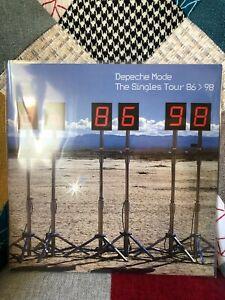 Depeche Mode The singles tour live Los Angeles 1998 2 lp
