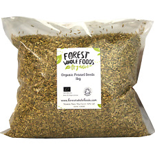 Organic Whole Fennel Seeds 1kg