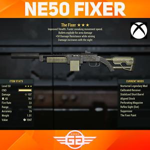 Nocturnal Explosive Fixer  50DR - N/E/50DR Fixer - NE50 Fixer Fallout76 [XBOX]