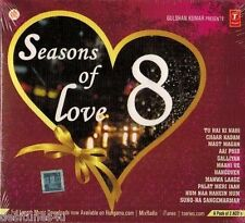 SEASONS OF LOVE 8 ROMANTIC SONGS - 2 CD BOLLYWOOD COMPILATION SET - FREE POST