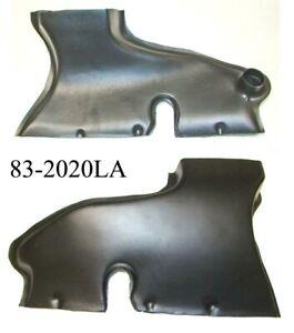 180 190 190SL & 220S Defroster Duct - LEFT SIDE