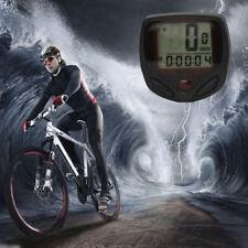 Waterproof Bicycle Road Bike MTB LCD Digital Computer Speedometer Odometer
