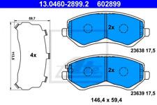 Bremsbelagsatz, Scheibenbremse für Bremsanlage Vorderachse ATE 13.0460-2899.2