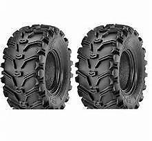 2 - 24 X 11 - 10 KENDA BEAR CLAW K299 ATV MUD ALL TERRAIN SET OF TIRES ( PAIR )