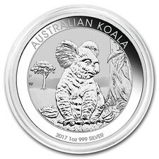 2017-P Australian Koala 1 oz .999 Silver Round BU Encapsulated Bullion Coin